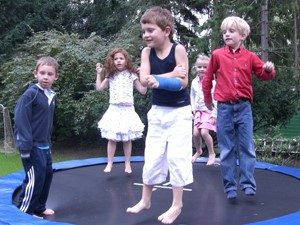 einfache Frakturen schützen nicht vor weiterer sportlicher Betätigung